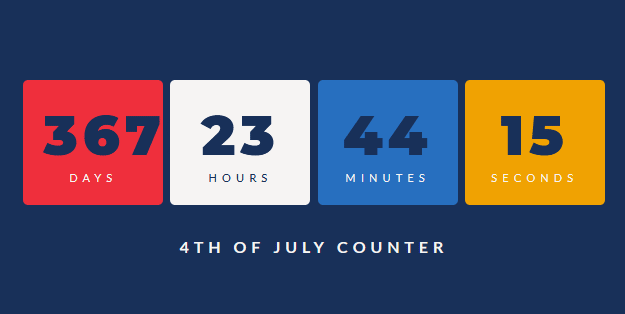 js设置日期倒计时代码