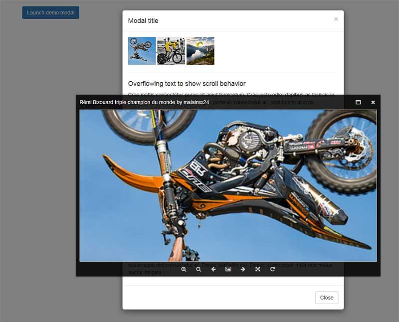 jquerymagnify图片放大查看器插件